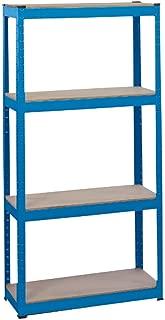 Draper 21658 760 mm x 200 mm x 1,520 mm Steel Shelving Unit with 4 Shelves
