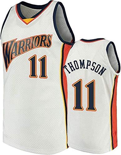 CXJ Klay Thompson Jerseys - NBA Golden State Warriors # 11 Men's Basketball Jersey, Fan Edition Unisex Sin Mangas Sudadera Camiseta Chalecos,M(170~175CM/65~75KG)