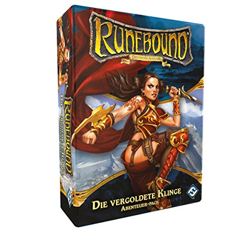 Fantasy Flight Games FFGD0145 Runebound-Die vergoldete Klinge