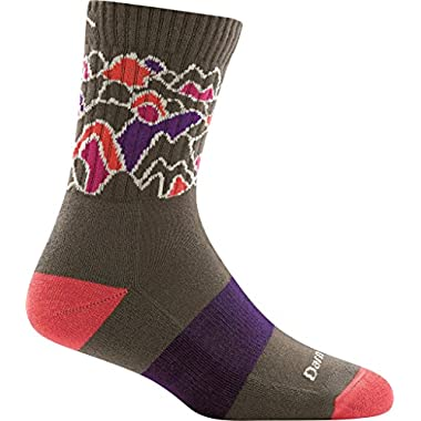 Darn Tough Coolmax Zuni Micro Crew Cushion Sock - Women's Taupe Medium