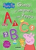 Gioca e impara con Peppa. Peppa Pig. Con adesivi. Ediz. a colori