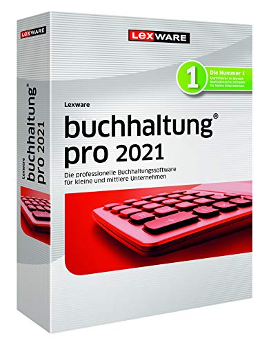 Lexware buchhaltung 2021|pro-Version Minibox (Jahreslizenz)|Einfache Buchhaltungs-Software für Freiberufler|Kompatibel mit Windows 8.1 oder aktueller|Pro|3|1 Jahr|PC|Disc