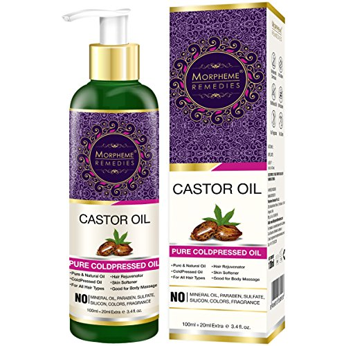 Morpheme Remedies Pure Cold Pressed Castor Oil For...
