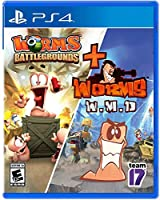 Worms Battleground + Worms W.M.D. (輸入版:北米) - PS4