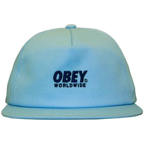 Obey - Casquette Snapback Homme Portland Snapback - Light Blue