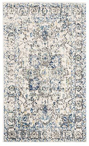 """Safavieh Madison Collection MAD603F Alfombra de área gris y marfil (2'3"""" x 4') corredor, 2' 3"""" x 4'"""