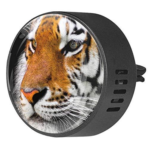 MUMIMI Difusor de aceite esencial para aromaterapia para coche, 2 unidades, diseño de tigre grande