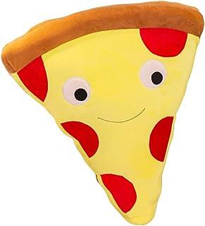 Wiivilik Fries de Dibujos Animados Simulación Pizza Cojín Almohadilla de la Felpa de Peluche de Juguete muñeca niños Casa Comprar Restaurante Decoración del Regalo de cumpleaños muñecos de Peluche