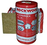Rockwool Klemmrock 120mm 4qm Dachdämmung...