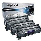 3 Toner Alphaink CB436A Compatibile con HP Laserjet M1120 1522N P1503 P1504 P1505 P1506
