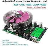 MakerHawk Electronic Load Tester USB Load Tester 150W 200V 20A Resistor Adjustable Constant