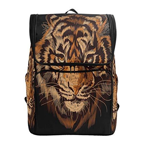 Aquarell Mode Cool Tiger Trend Tiermalerei Rucksack Bookbags College Laptop Daypack Travel Schule Wandern Tasche für Damen Herren