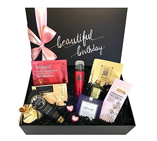 """Luxus-Geschenkbox zum Geburtstag für Frauen - birthday beauty box """"beautiful birthday DELUXE"""" -"""