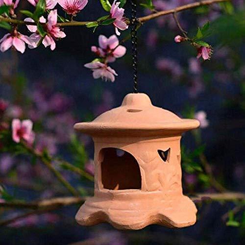 erddcbb Pagoda Candeliere Portacandele Ornamento Cinese Giapponese Scultura Lanterna Decor Giardino Patio Ceramica Tea Light, B.