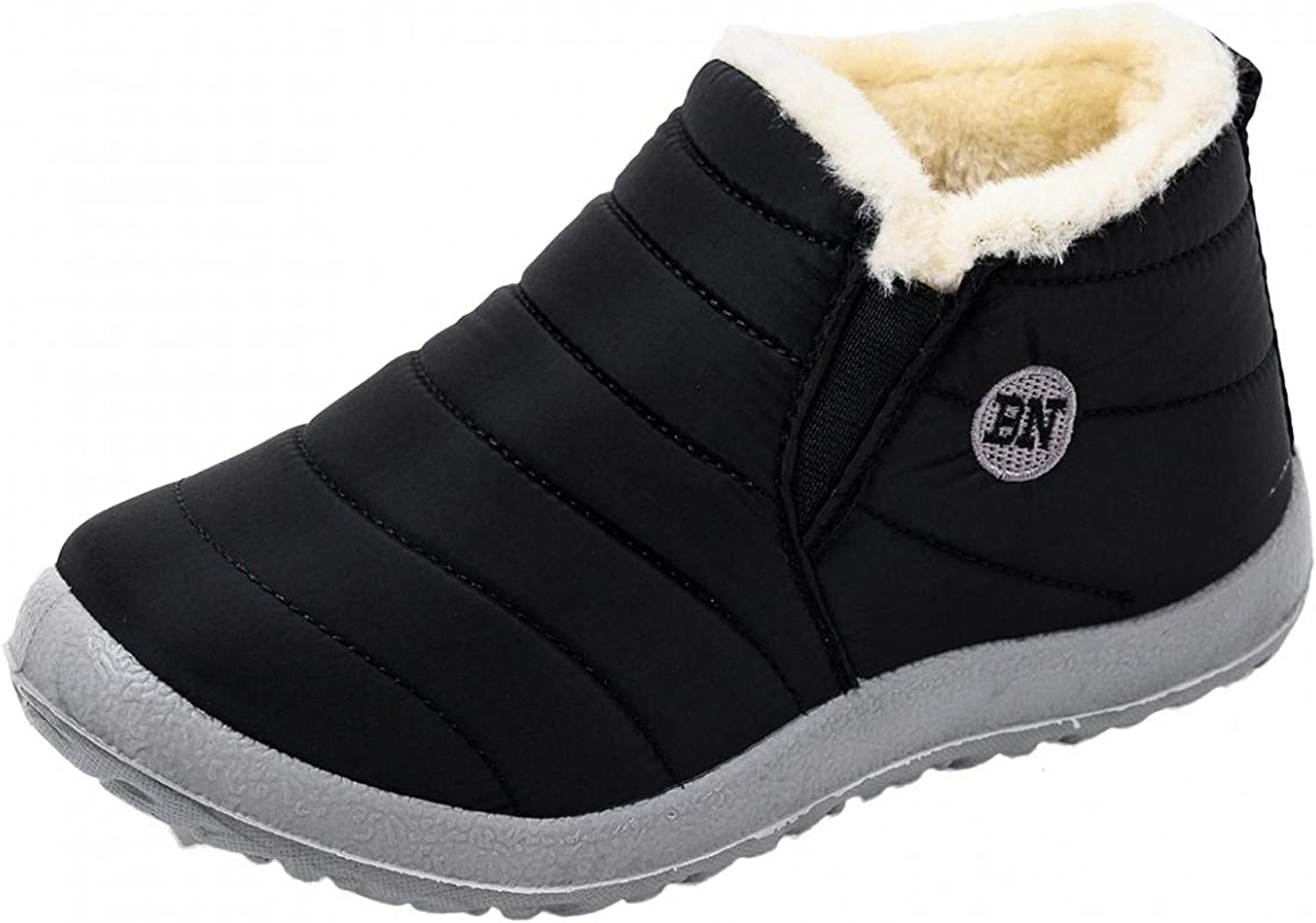 Gyouanime Shoes Winter Outdoor Snow Boots Non-Slip Plus Velvet F