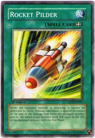 Yu-Gi-Oh! - Rocket Pilder (ABPF-EN051) - Absolute Powerforce - Unlimited Edition - Common by Yu-Gi-Oh!