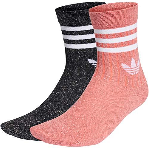 adidas Damen MID Cut Full GL Socken, Rosado/Gris, M