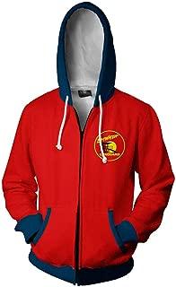 Flyer Hot TV Series Cosplay Jacket 3D Printed Zip UP Hoodie for Men