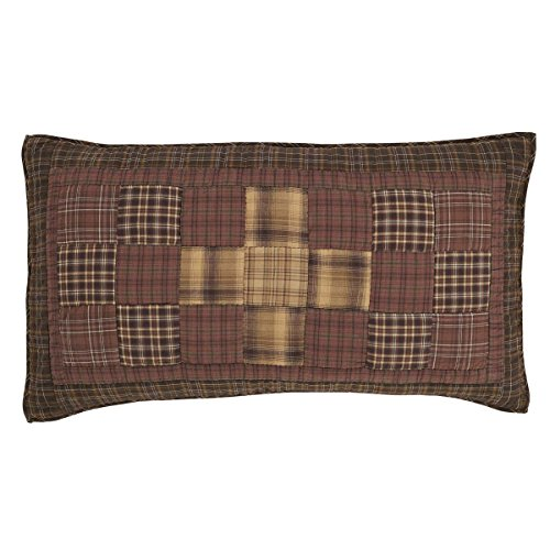 VHC Brands 14958 Bedding Accessory, King Sham 21x37