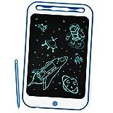 Richgv Tableta de Escritura, 10 Pulgadas Tablet de Pintar Niños,Electrónica Gráfica Portatil Tableta de Dibujo Digital Color, Escribir Dibujar Notas para Clase Oficina Casa (Azul Marino-A)