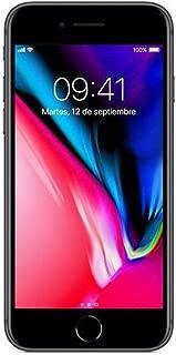 Apple - Teléfono celular iPhone 8, GSM desbloqueado 12 cm (4.7 pulgadas), 64 GB, Gris (Space Grey)