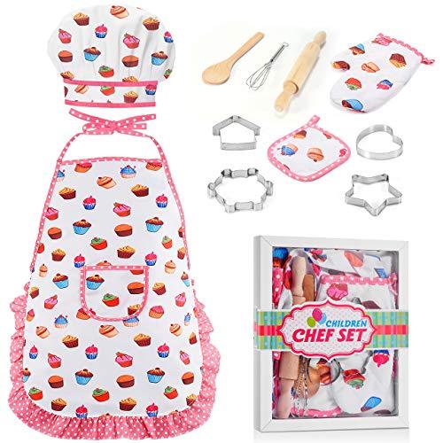 dmazing Regalos Niña 5 6 7 8 Años, 3-8 Años Juguetes Niña Niños Juguetes para Niños de 3-8 Años Cocina Juguete Regalos para Niñas Blanco