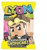 Zeus Party Lyon Card & Chips Confezioni di Patatine di LYON al Interno di Ognuna Trovi Subito un Pacchetto da 5 Card (3 Patatine)