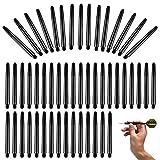 200 piezas de ejes de dardos de plástico Eje de flechas de dardos de plástico 2BA Eje de flechas de dardos Eje de dardos de dardos Accesorios de dardos cortos Ejes para puntas de dardos de acero suave