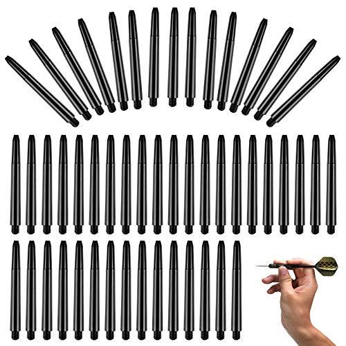 Huahao 200 Pezzi Alberi per Freccette Frecce in plastica 2BA Frecce per Freccette Albero per Freccette Albero per Freccette Accessori per Freccette Alberi per Punte per Freccette in Acciaio Morbido
