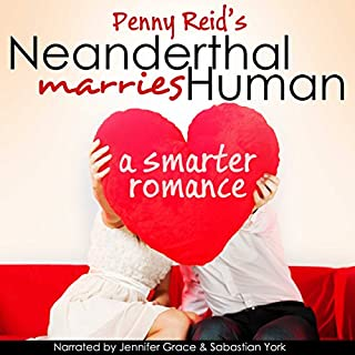 Neanderthal Marries Human: A Smarter Romance     Knitting in the City, Book 1.5              Auteur(s):                                                                                                                                 Penny Reid                               Narrateur(s):                                                                                                                                 Jennifer Grace,                                                                                        Sebastian York                      Durée: 13 h et 26 min     7 évaluations     Au global 4,3