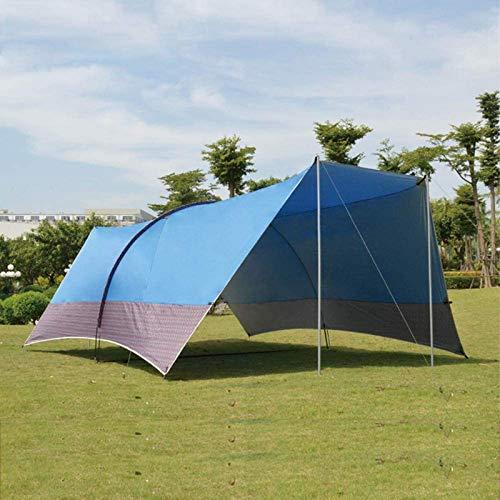 NBALL-TT Tienda de campaña Parasol Toldo de Vela Coche Tienda del pabellón de Bricolaje Construir Multifuncional Parasol Túnel Protector Solar y Prueba de Lluvia Carpa