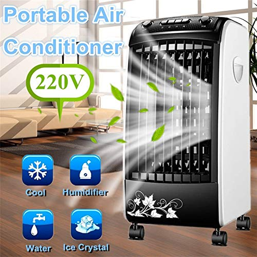 Mobile Klimageräte Air Cooler Luftkühler Single Cold Air Conditioning Fan Befeuchtung Mobile Kühlung Small Air Conditioner 65W