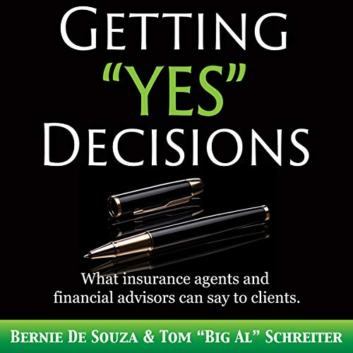 "Getting ""Yes"" Decisions audiobook cover art"