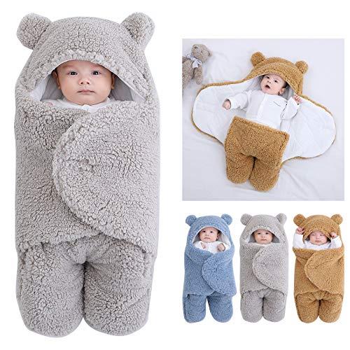 Camidy - Saco de dormir con capucha, para bebés de 3 6 meses