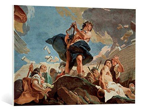 Kunst für Alle Cuadro en Lienzo: Giovanni Battista Tiepolo Tiepolo Apollo Builds Troy c 1750