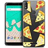 Ultra-Slim Case for 6 Inch Wiko View Max, Foodie Pizza