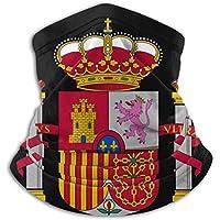 Not applicable España Bandera Logotipo Cuello Polaina Mascarilla Sombreros Pasamontañas para Ciclismo Esquí