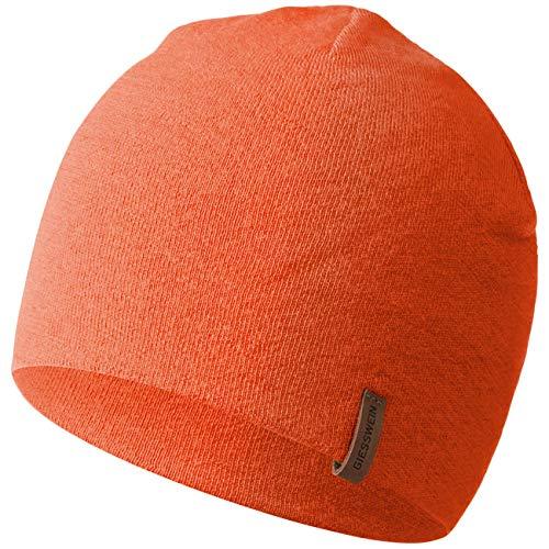 GIESSWEIN Merino Mütze Gehrenspitze - Funktionsmütze aus 100% Merinowolle, Unisex Sports Beanie, atmungsaktive Cap für Damen & Herren, leicht & temperaturregulierend