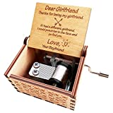 N / A Orimami Music Box Gift for Girlfriend from Boyfriend - Dear Girlfriend Thanks for Being My Girlfriend If i had a Different Girlfriend I Would Punch her in The face and go to find You