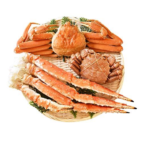 北海道きたれん 三大蟹セット