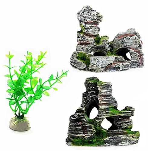 Peceras Decoradas Con Plantas Artificiales