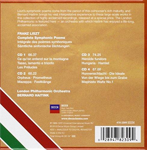 Liszt: Poemas Sinfónicos Completos