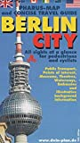 Stadtplan: Pharus-Map and Concise Travel Guide: Berlin City (English Edition): Berlin's first map for pedestrians, 1:16000 -