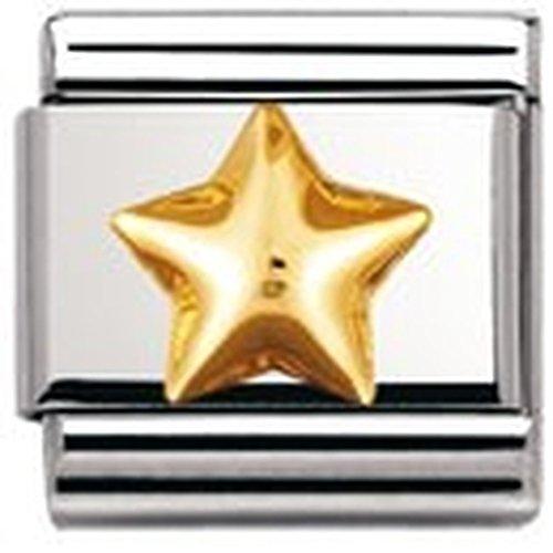 Nomination 030110 - Link unisex, acciaio inossidabile