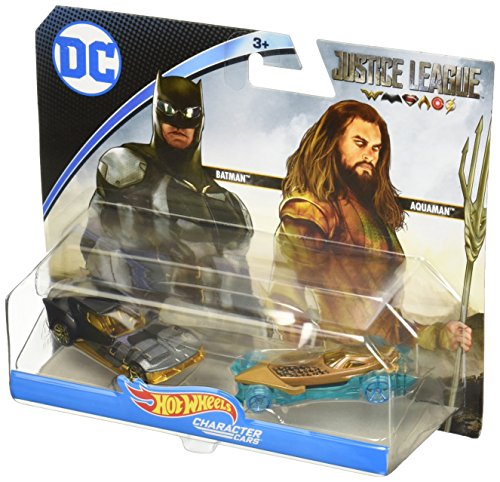 Hot Wheels FFV13 Justice League Fahrzeug