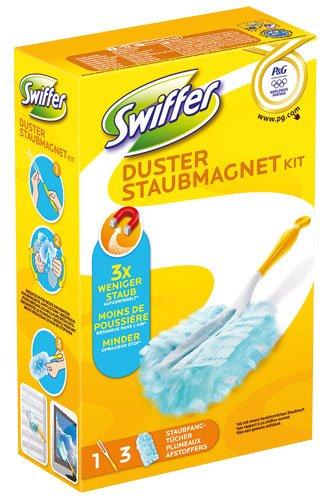 Swiffer Staubmagnet Starter-Kit (1 Griff & 3 Tücher) - 1St. - 2x