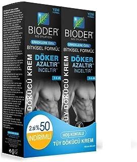 Bioder Tüy Dökücü Krem Erkeklere Özel 100 ml x 2 Adet