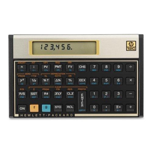 Caixa de atacado com 3 - Calculadora Financeira HP 12C Calculadora Financeira, 120 funções, 12 x 8 x 1,2 cm