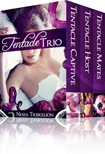 Tentacle Trio: Three Tales of Slippery Pleasure: (Monster, Eggs, Public Places, Lesbian erotic romance, pregnancy) (English Edition)
