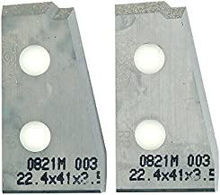 Freud RP-A 5/8-Inch Stock Knife Set For Freud RP1000 Or RP2000 Raised Panel Cutter